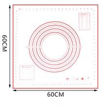 2019 New Big Size Non_Stick Silicone Baking Mat reusable Baking Mat Baking Tool 80*60CM /70*50CM/60*60CM /60*50CM
