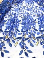 latest african lace fabrics embroidered african guipure french lace fabric 2018 african french net lace fabric zln54