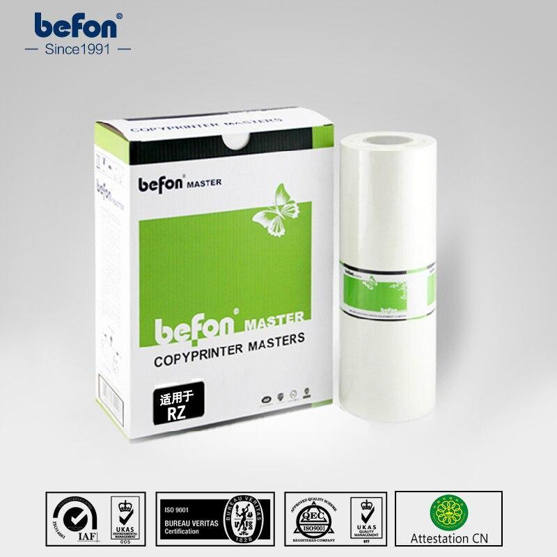 Befon Master Rolls Compatible RZ RZ/RV A3 pour Riso Compatible pour RZ570/300/310/370/390 RV3650/3660/3690
