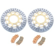 BIKINGBOY disques de frein avant disques Rotors tampons pour Suzuki GSX-R 1000 2012 2013 2014 2015 GSX-R 600 750 2011 2012 2013 2014 2015