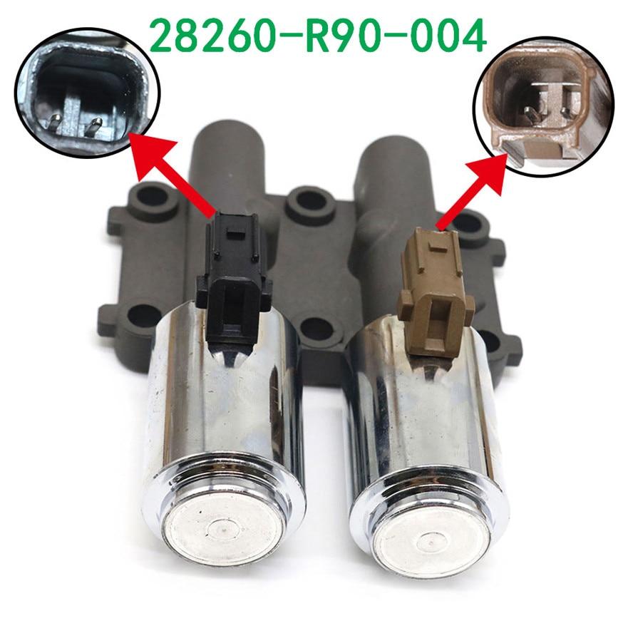 28260-R90-004 28260R90004 solénoïde de décalage linéaire double Transmission OEM avec joint pour élément Honda Accord pour Acura TSX ILX