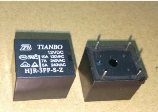 حار جديد تتابع HJR-3FF-S-Z 12VDC HJR-3FF-S-Z-12VDC HJR3FFSZ HJR3FFSZ-12VDC HJR-3FF 12VDC DC12V 12V DIP5 20 شريحة/وحدة