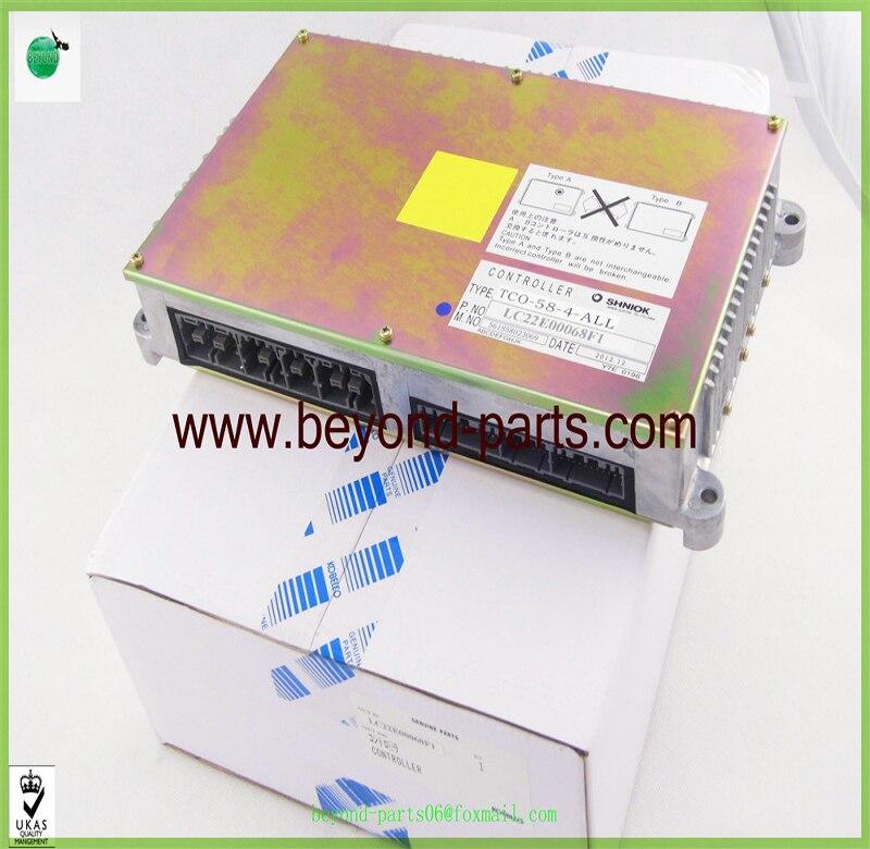 Excavator spare parts KOBELCO SK200-6E controller computer control panel LC22E00068F1 TCO-58-4-ALL
