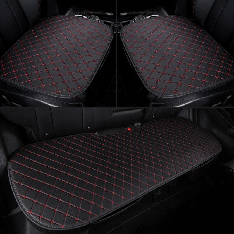 Pu car seat cover front rear leather cushion protector mat  for Mazda 3 6 2 CX-4 CX-5 CX-7 Axela ATENZA LAND CRUISER 2 octavia