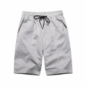2018 Fashion New Summer Shorts Men Brand Elastic Waist Drawstring Cotton Male Solid Casual Homme Shorts Masculino Sweatpants