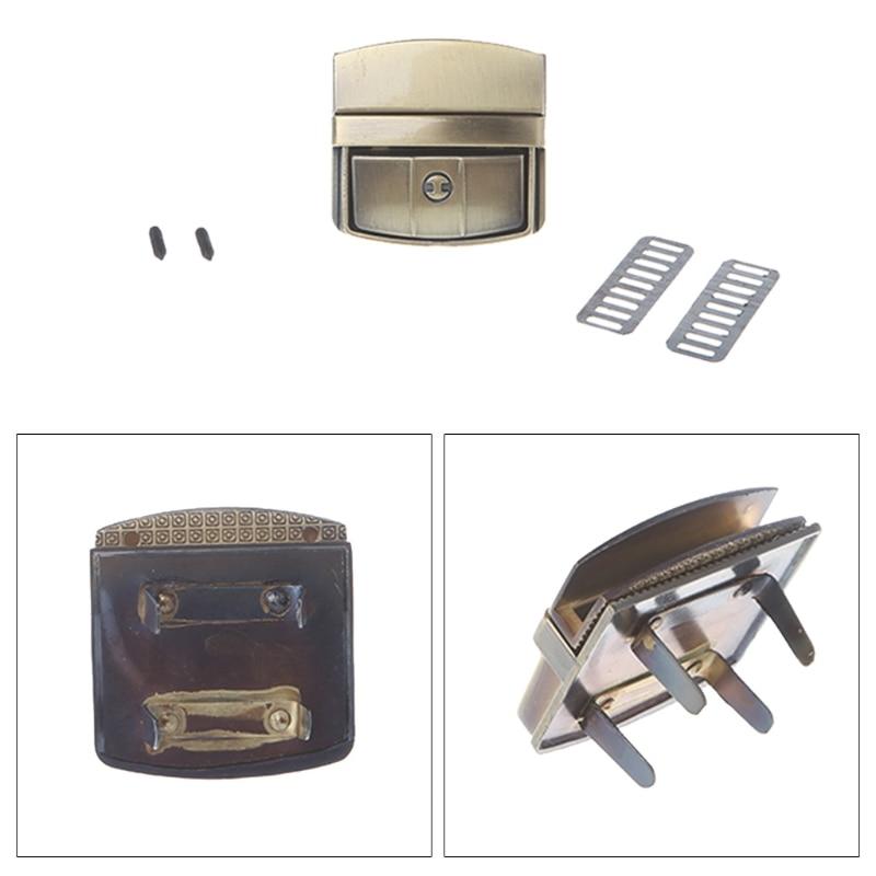 osmond alloy tone turn locks snap clasps closure buckle for bags accessories diy handbags purse alloy button replacement lock THINKTHENDO Women Bag Accessories Buckle Turn Lock Snap Clasps Closure for Purse Handbag