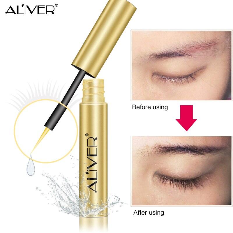 7 Day Eyelash Growth Serum Eyelash Enhancer Longer Fuller Thicker Lashes Eyelashes and Eyebrows Enhancer Eye Makeup
