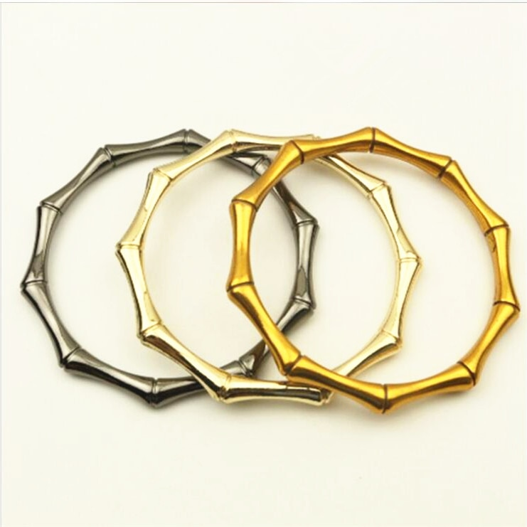 O Shape Metal Handles For Handbags Accessories For Bags Purse Clasp ASas Para Bolso Metal Purse Frame Lock For Bag Metal Handles