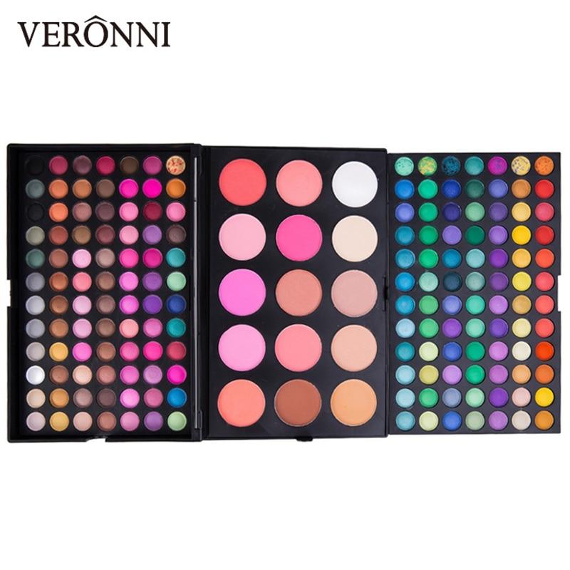 Sombra de olhos cosméticos paleta de maquiagem de sombras paleta paleta de sombra de olho 183 cores maquiagem cosméticos
