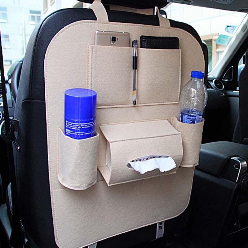 Car Storage Bag Universal Back Seat Organizer Box car Accessories for Skoda Octavia Fabia Rapid Superb Yeti Roomster