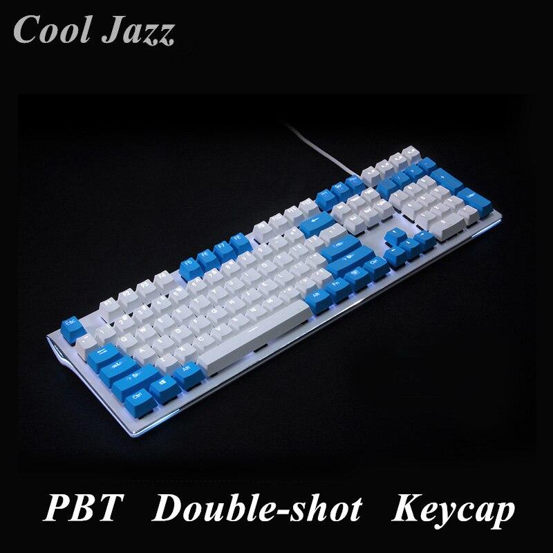 108 schlüssel PBT Doppel schuss Translucidus Backlit Tastenkappen Für Razer Corsair K65 K70 Logitech G710 Mechanische gaming Tastatur iso schlüssel