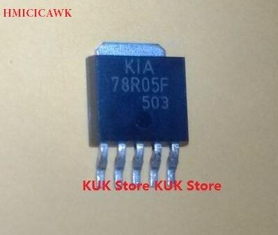 HMICICAWK Original 100% nuevo KIA78R05F KIA78R05 78R05F 78R05 DPAK 10 unids/lote