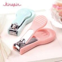 Машинка для стрижки ногтей KINEPIN, маникюрный триммер с пилкой для ногтей, высококачественные ножницы для ногтей с клиппером