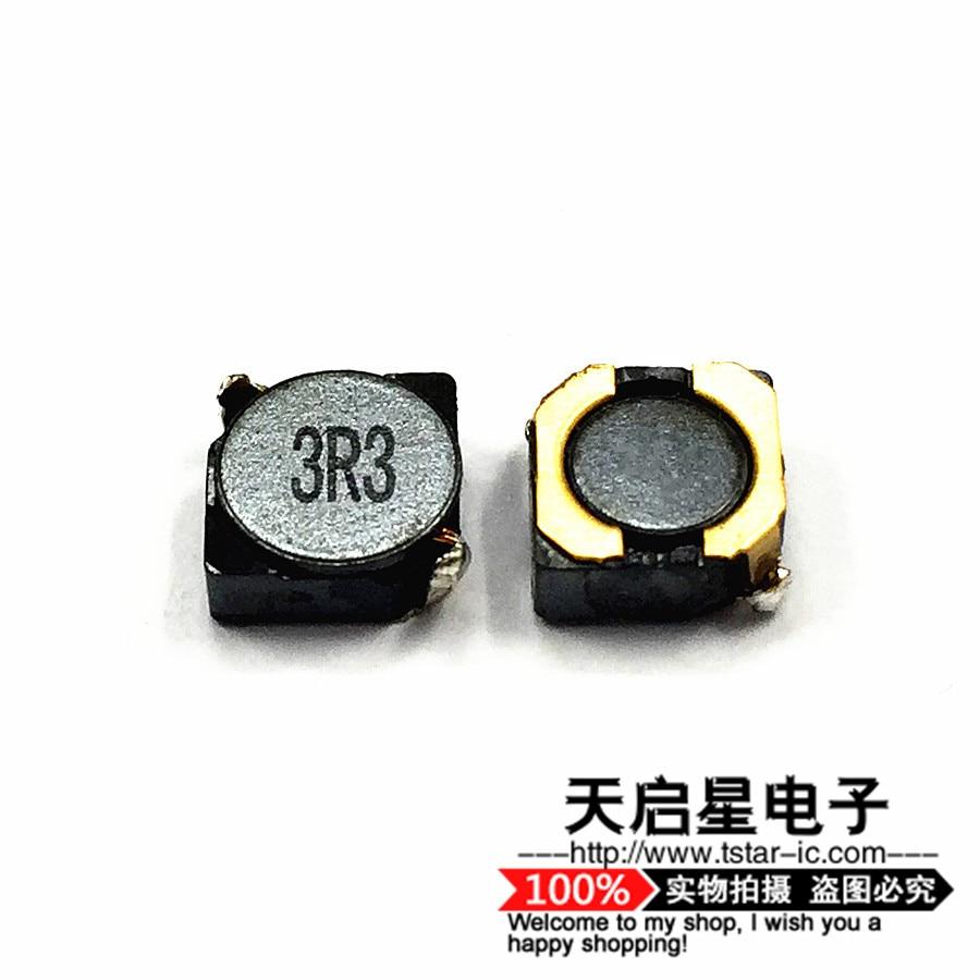 5 шт./SMD Силовые индукторы 2D18 3D18 3.3UH печать: 3R3 3*3*2 мм/4*4*2 мм Экранирование 3x3x1.8мм/3.8x3.8x1.8мм