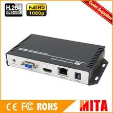 DHL livraison gratuite H.264 /H264 HDMI & VGA HD décodeur Audio vidéo décodeur de Streaming IP pour le décodage du taux matériel de lencodeur vidéo HD