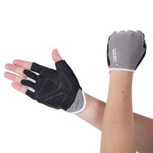 2017 nouveau 1 paire anti-dérapant haltérophilie gants musculation Sport Fitness gants pour hommes femmes essentiel dans le gymnase