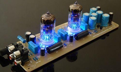 WZ-X10Db puffer vorverstärker board X-10D Musical Fidelity mit 6N11 Rohre