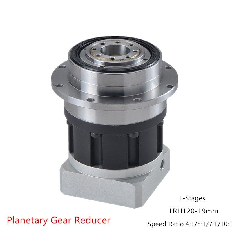 عالية الحياة LRH120-19mm الكواكب والعتاد المخفض 8 Arcmin دقة ، سرعة نسبة 4:1/5:1/7:1/10:1 ل NEMA44 110 مللي متر محرك سيرفو