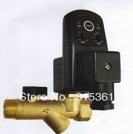 Free Shipping 10pcs/Lot High Quality 1/2'' Electronic Automatic Timer Drain Valve AC220V Model EDV-15T