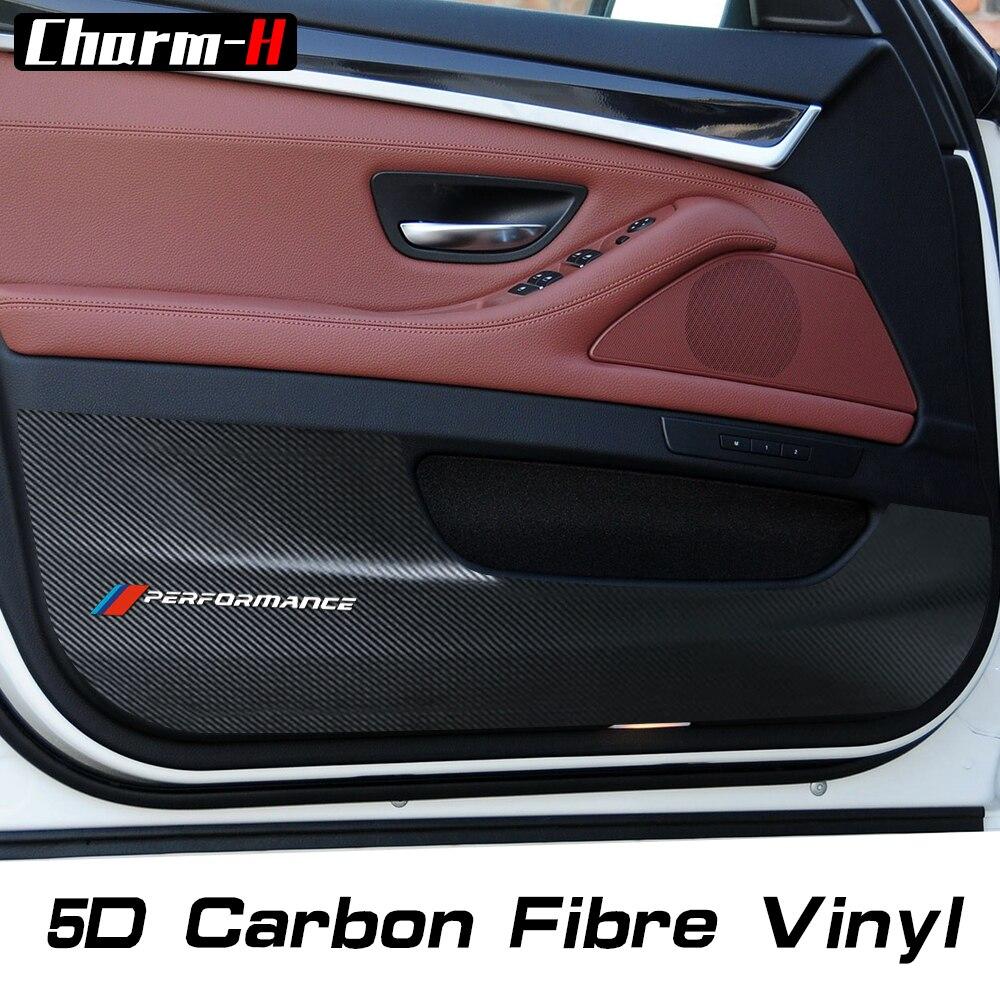 4X 5D защитная пленка из углеродного волокна для автомобильных дверей, Защитная пленка для BMW e90 f30 f31 f10 f11 x3x4x5x6