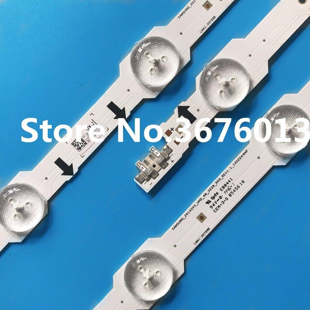 """1004mm LED de luz de tira de la lámpara 13 leds para Samsung 48 """"TV UA48HU5900 LM41-00106 LM41-00088 CY-GH048HGLV2H 2014SVS-UHD-48 E88441"""