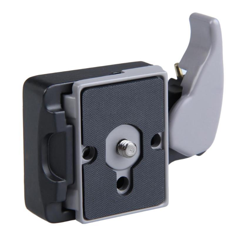 Adaptador de liberación rápida 323 para cámara de aleación de Metal negro de alta calidad vanpower con placa de compactación Manfrotto 200PL-14