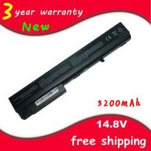 Dizüstü bilgisayar HP için batarya/Compaq Notebook 6720 t 7400 8200 8400 8500 8510 w 8700 8710 w 9400 HSTNN-OB06 HSTNN-UB11 PB992A PB992UT