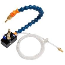 1 PC 8mm système de lubrification de liquide de refroidissement de brouillard unité de système de lubrification de brouillard pour le tuyau dair CNC foret de fraisage de tour