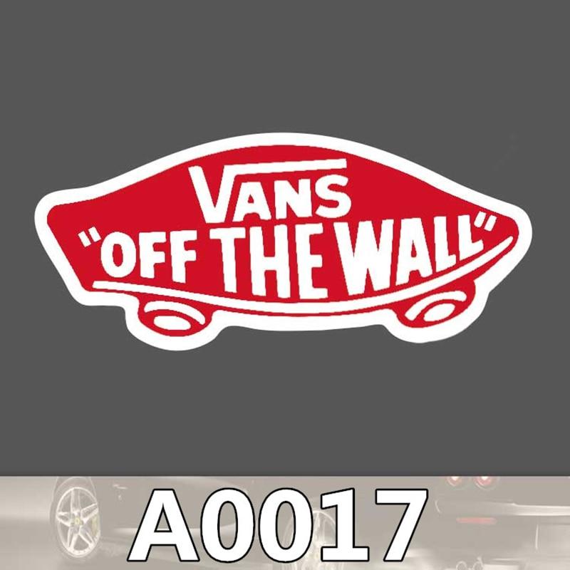 50pcs/bag vans off the wall sticker travel skateboard trolley sticker body sticker cartoon graffiti PVC waterproof sticker A0116
