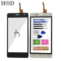 5 0 touch screen glass for oukitel k4000 pro front glass digitizer panel lens sensor flex cable tools adhesive gift