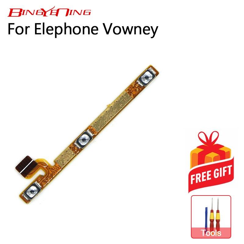 BingYeNing nuevo Original Elephone Vowney encendido/apagado + volumen FPC tecla Arriba/botón de abajo Flex Cable FPC para Elephone Vowney