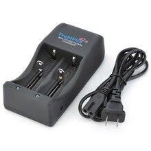 TR-006 chargeur à double fente chargeur de batterie au Lithium polyvalent pour 26650 25500 26700 18650 Batteries