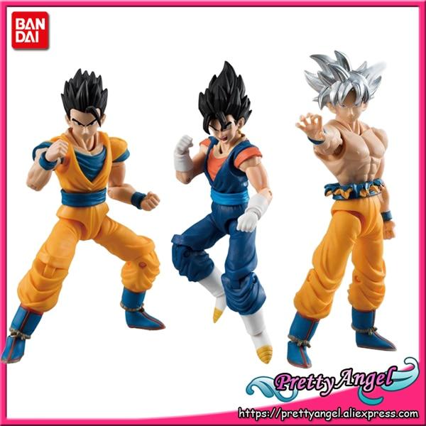 Genuine Bandai Tamashii Nationen SHODO Vol.6 Dragon Ball SUPER Sohn Goku Ultra Instinct & Gohan & Gokuh (9cm hoch) action Figur