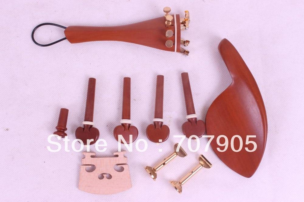 violin jujube parts,tailpiece tuner peg chinrest bridge chinrest clamp #E31-5