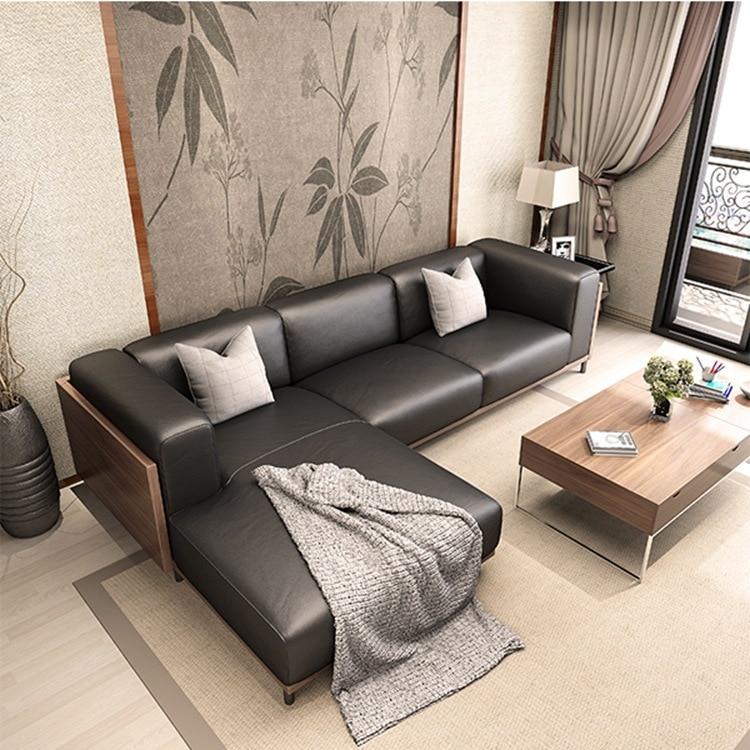 1+3 seat+lounge /lot PU living room combinational sofa set CE- 0000435