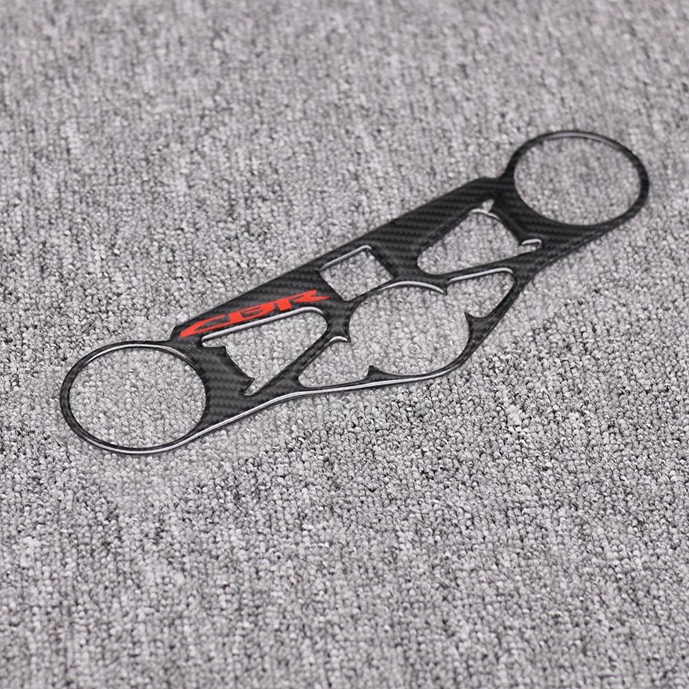 Motorcycle Sticker Carbon Fiber Pattern Top Triple Clamp Yoke Case for HONDA CBR1000RR CBR 1000RR 2008 2009 2010 2011