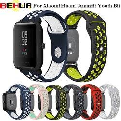 Cinta Substituir para Relógio para Amazônia Juventude Tiras De Silicone para Xiaomi Huami Bip POUCO RITMO Lite Juventude Relógio Inteligente Relógio de Pulso pulseira
