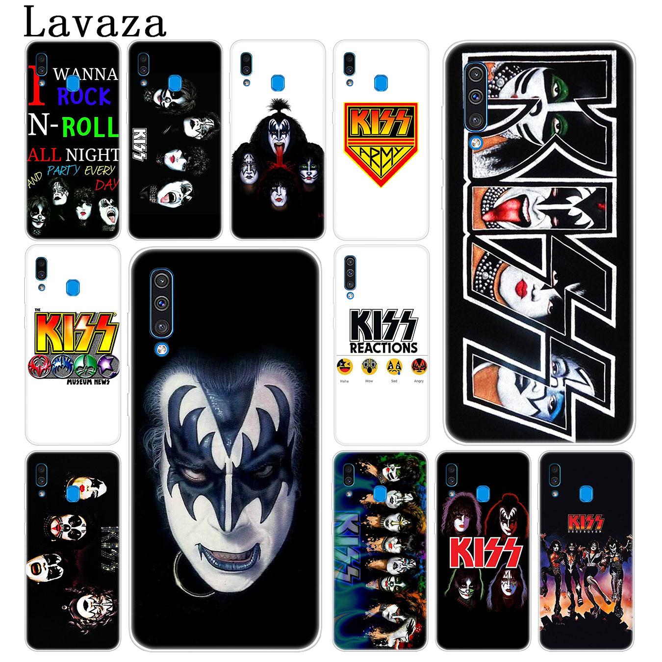 Lavaza Gen Simmons Kuss band Harte Telefon Fall für Samsung Galaxy A70 A60 A50 A40 A30 A20 A10 M10 M20 m30 M40 A20e Abdeckung