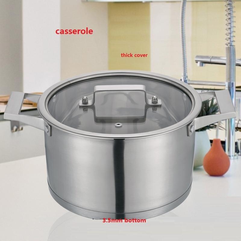 Бесплатная доставка кастрюля высокого качества кастрюля из нержавеющей стали кастрюля для приготовления пищи кастрюля для молока посуда