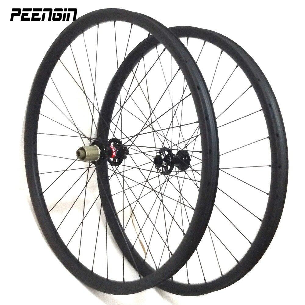 Специальный дизайн для американского/Европейского велосипедиста Carbon 27,5 колесная Установка 40 мм бескамерная коляска с капюшоном 650B DH wheel ERD ...