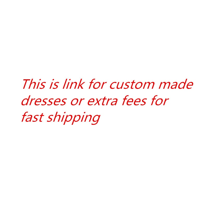 This is a link for customizing dresses Evening Dress Prom Dress Special Occasion Party Gowns Vestido