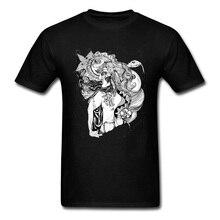 Musique indépendante hommes t-shirts nouvelle âme 2018 dernière conception le serpent sorcière T-Shirt à fleurs Cool Hipster hommes à manches courtes vêtements