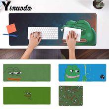 Yinuoda souris tapis de souris pour joueur de jeu pepe meme Gamer vitesse tapis de souris taille pour 180*220 200*250 250*290 300*900 et 400*900*2mm