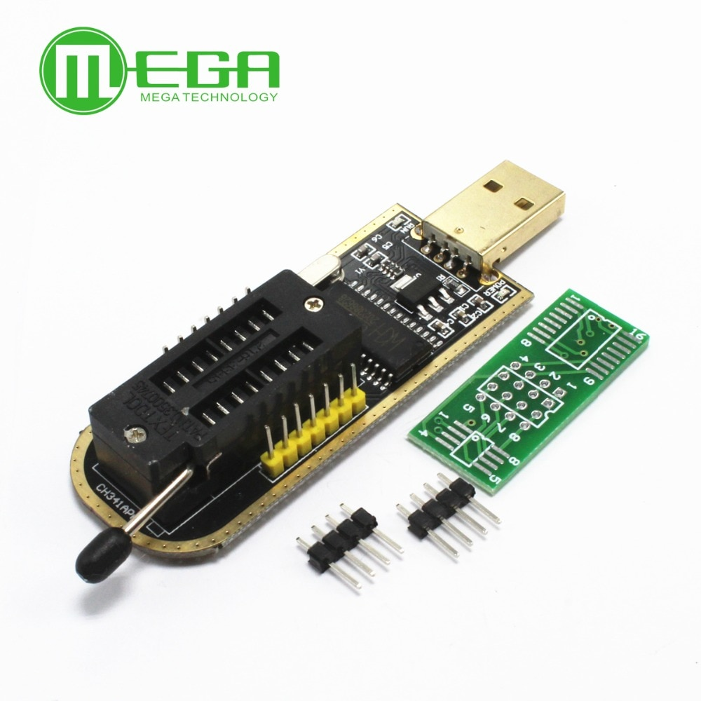 5set CH341A 24 25 Serie EEPROM-Flash-BIOS-USB Programmierer mit Software & Fahrer