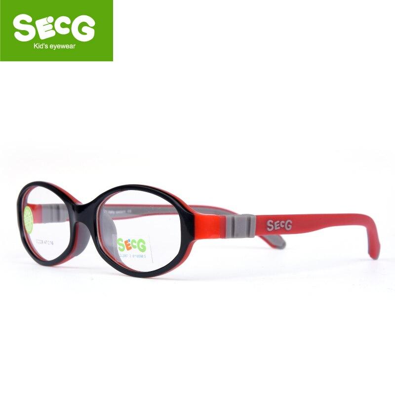 Óculos de miopia ópticos do quadro bonito redondo dos vidros das crianças de secg para a vista