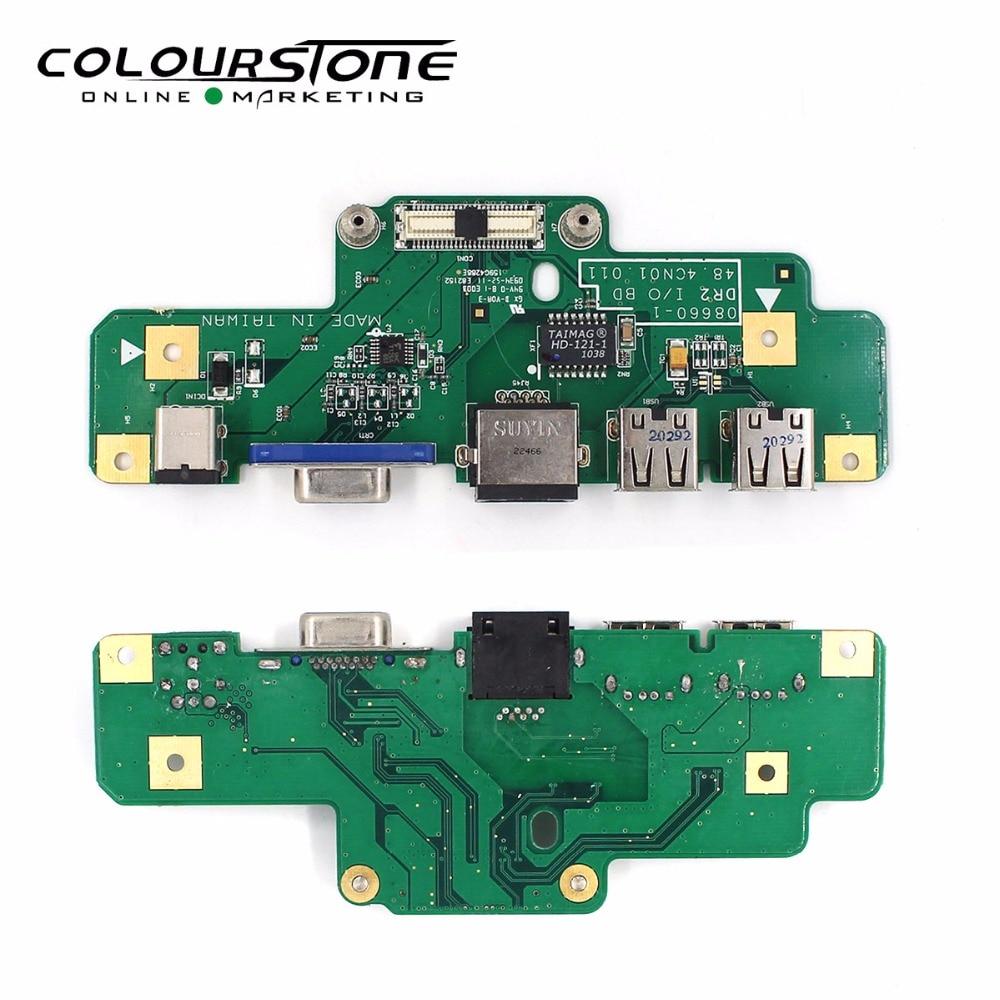 El dr. memoria nuevo ordenador portátil DC Jack de alimentación USB junta para Dell para Inspiron 1750-08660-1 DR2/O BD 48.4CN01.011