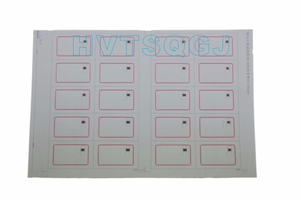3000 pcs Frete grátis preço de Fábrica 13.56 MHZ iso14443 rfid inlay