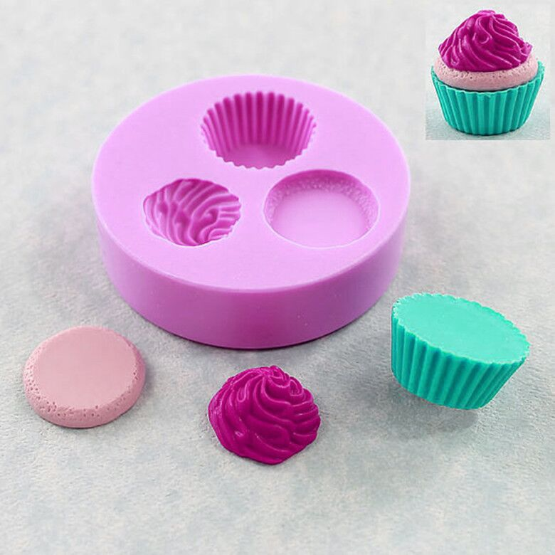 Forma de sorvete silicone fandont molde de silicone moldes de gel de silicone moldes de chocolate forma de sorvete bolo de cozimento ferramentas de decoração molde de doces