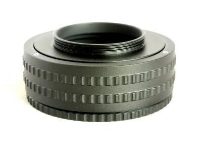 M52-m42 25-55 M52 a M42 montaje centrado adaptador de anillo helicoidal 25mm-55mm Tubo de extensión Macro