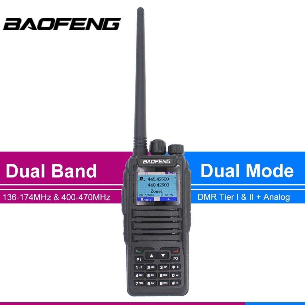 جديد إطلاق DMR Baofeng المزدوج وضع التناظرية و الرقمية اسلكية تخاطب DM-1701 الطبقة 1 + 2 التوقيت المزدوج فتحة DM1701 هام المزدوج الفرقة راديو